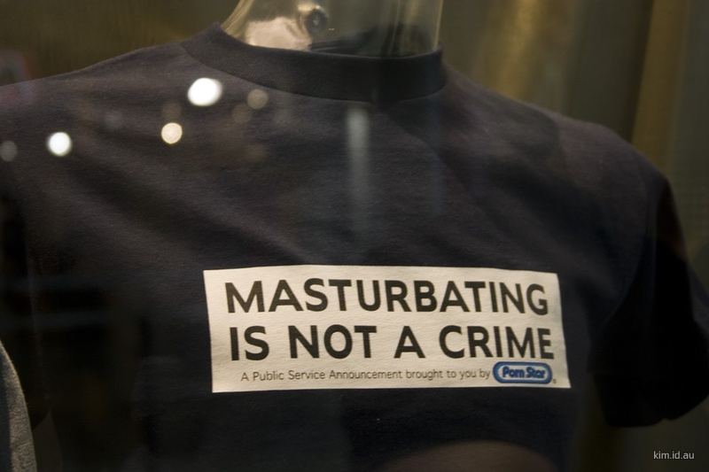 masturbation is not a crime