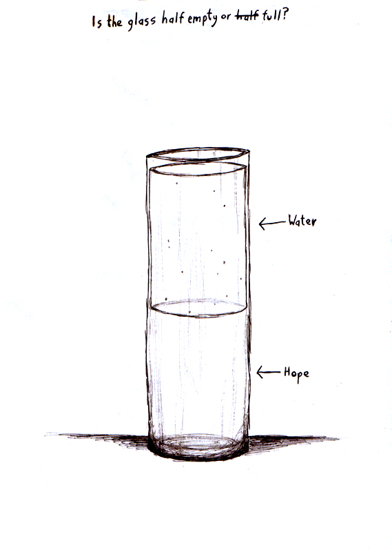 Half empty of half full? A representation of homeopathy