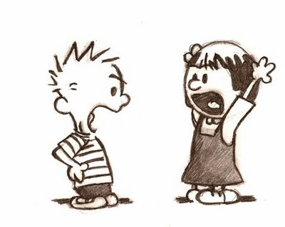 Calvin & Hobbes Argument (about polyamorous issues, clearly)